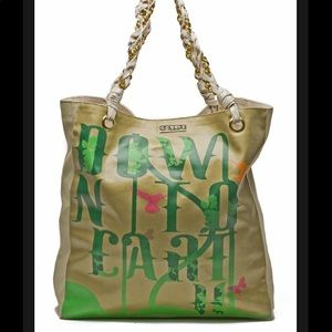 CC Skye large ECO tote bag down to earth gold